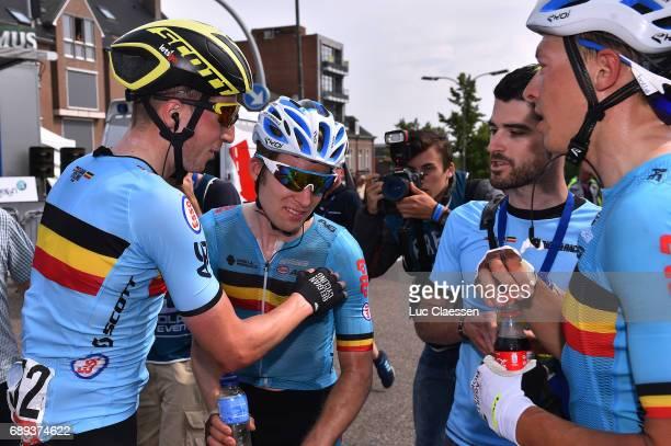 87th Tour of Belgium 2017 / Stage 5 Jens KEUKELEIRE Celebration / Jan BAKELANTS / Oliver NAESEN / Tienen Tongeren / Baloise / Tour of Belgium /