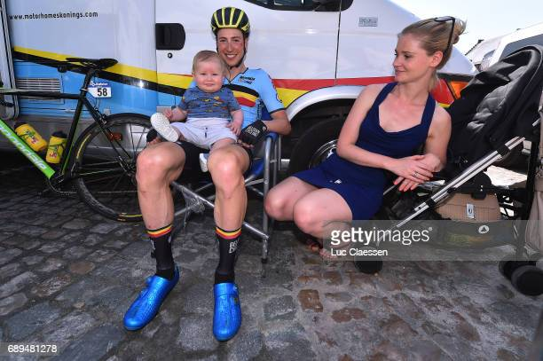87th Tour of Belgium 2017 / Stage 5 Jens KEUKELEIRE / Lou KEUKELEIRE Son / Sheena MAESEN Wife / Tienen Tongeren / Baloise / Tour of Belgium /