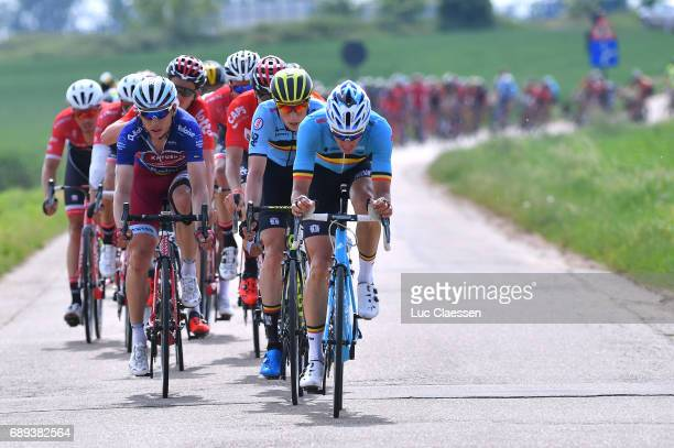 87th Tour of Belgium 2017 / Stage 5 Oliver NAESEN / Jens KEUKELEIRE / Tony MARTIN Blue Jersey/ Tienen Tongeren / Baloise / Tour of Belgium /