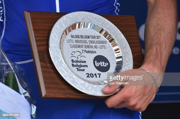 87th Tour of Belgium 2017 / Stage 5 Podium / Illustration / Trophy / Remi CAVAGNA / Tienen Tongeren / Baloise / Tour of Belgium /