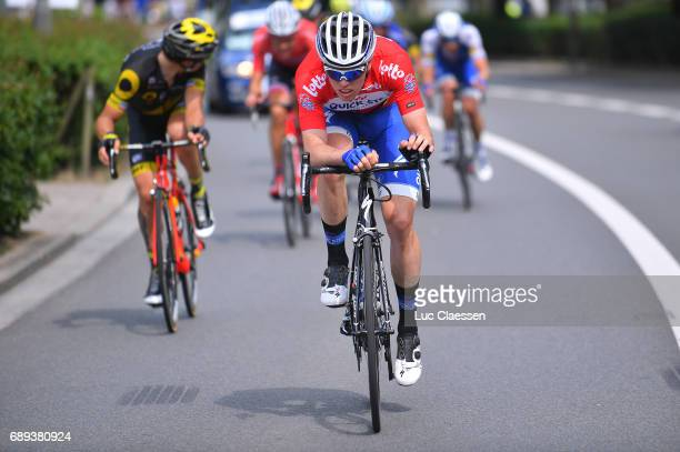 87th Tour of Belgium 2017 / Stage 5 Remi CAVAGNA Red leaders jersey / Tienen Tongeren / Baloise / Tour of Belgium /