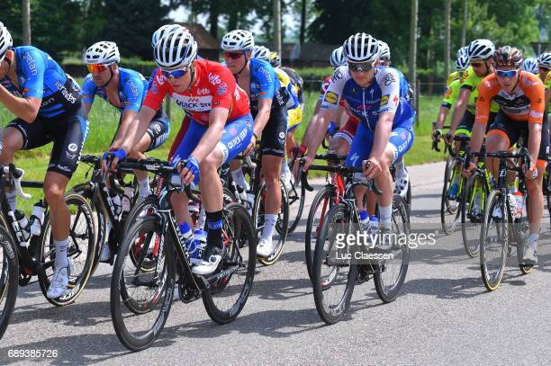 87th Tour of Belgium 2017 / Stage 5 Remi CAVAGNA Red leaders jersey / Yves LAMPAERT / Tienen Tongeren / Baloise / Tour of Belgium /