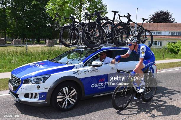 87th Tour of Belgium 2017 / Stage 5 Tim DECLERCQ / Wilfried PEETERS Sportsdirector / Team Quickstep Floors / Tienen Tongeren / Baloise / Tour of...