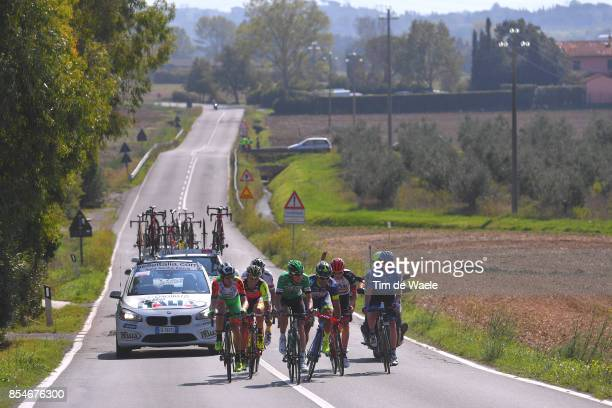89th Giro Della Toscana 2017 / Stage 2 Alessandro TONELLI / Jacopo MOSCA / Danilo NAPOLITANO / Igor BOEV / Matthias KRIZEK / Josu ZABALA / Fabricio...