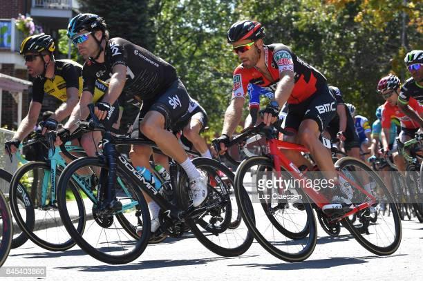 8th Grand Prix Cycliste de Montreal 2017 Philip DEIGNAN / Danilo WYSS / Montreal Montreal / Grand Prix Montreal /