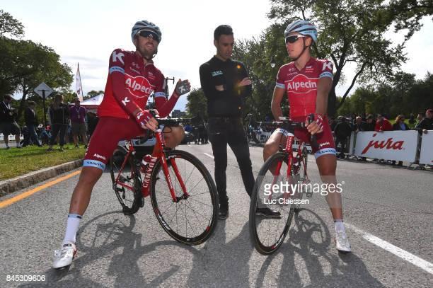 8th Grand Prix Cycliste de Montreal 2017 Robert KISERLOVSKI / Simon SPILAK / Patxi VILLA Trainer/ Montreal Montreal / Grand Prix Montreal /