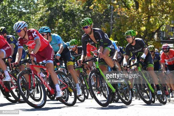8th Grand Prix Cycliste de Montreal 2017 Simon SPILAK / Dennis VAN WINDEN / Montreal Montreal / Grand Prix Montreal /