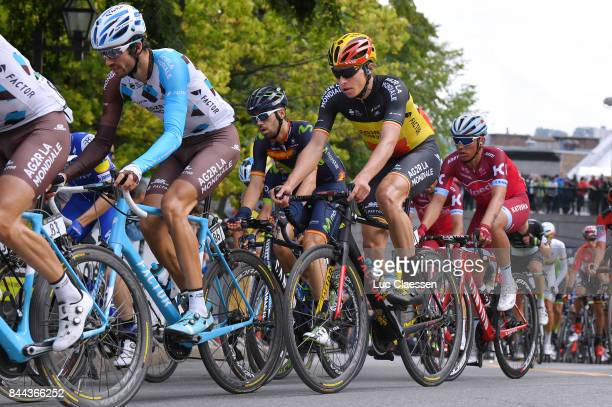 8th Grand Prix Cycliste de Quebec 2017 Ben GASTAUER / Oliver NAESEN / Quebec Quebec / Grand Prix Quebec /