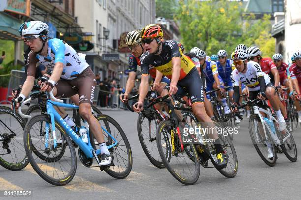 8th Grand Prix Cycliste de Quebec 2017 Jan BAKELANTS / Oliver NAESEN / Sergio HENAO / Quebec Quebec / Grand Prix Quebec /