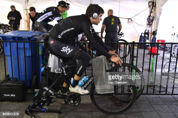 8th Grand Prix Cycliste de Quebec Monteral 2017 / Training Philip DEIGNAN / Training / Grand Prix Quebec Monteral /