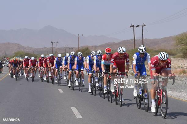 8th Tour of Oman 2017 / Stage 1 Jenthe BIERMANS / Eros CAPECCHI / Reto HOLLENSTEIN / Al Sawadi Beach Naseem Park /