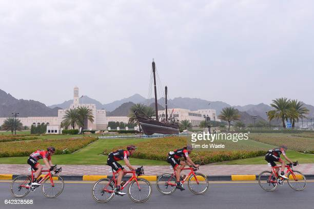 8th Tour of Oman 2017 / Stage 4 Ben HERMANS Red Leader Jersey/ Michael SCHAR / Kilian FRANKINY / Team BMC Racing Tean / Landscape / Peloton / Yiti...