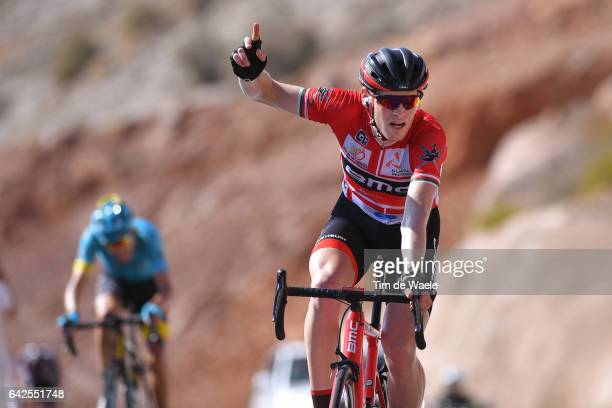 8th Tour of Oman 2017 / Stage 5 Arrival / Ben HERMANS Red Leader Jersey/ Celebration / Sama il Jabal Al AkhdharGreen Mountain 1235m /