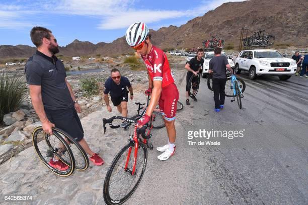 8th Tour of Oman 2017 / Stage 5 Reto HOLLENSTEIN / Mechanical Problem/ Crash / Sama il Jabal Al AkhdharGreen Mountain 1235m /