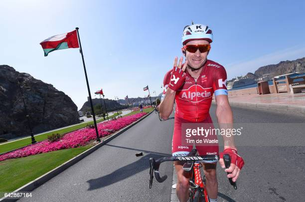 8th Tour of Oman 2017 / Stage 6 Arrival / Alexander KRISTOFF / Celebration / The Wave Muscat Matrah Corniche /