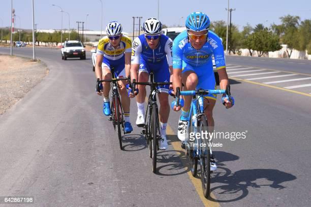 8th Tour of Oman 2017 / Stage 6 Benjamin GIRAUD / Iljo KEISSE / Aime DE GENDT / The Wave Muscat Matrah Corniche /