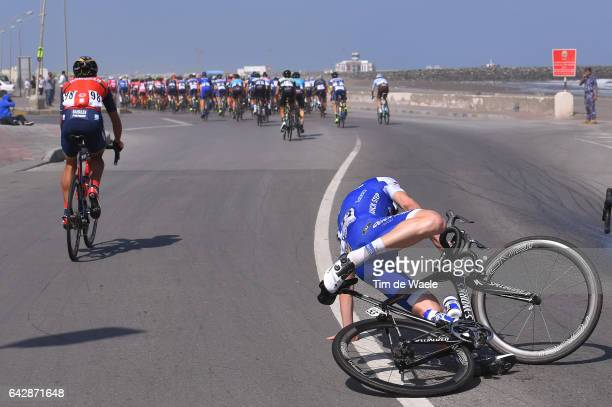 8th Tour of Oman 2017 / Stage 6 David DE LA CRUZ / Crash / The Wave Muscat Matrah Corniche /