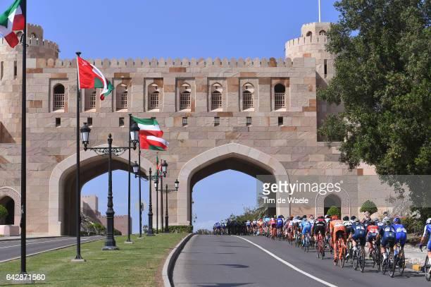 8th Tour of Oman 2017 / Stage 6 Peloton / Matrah Corniche / Muscat City / Landscape / The Wave Muscat Matrah Corniche /