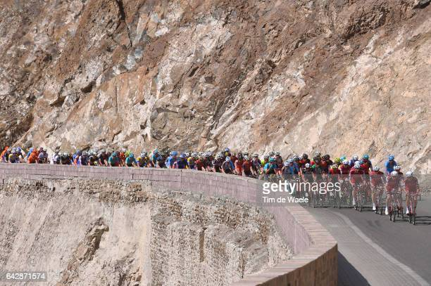 8th Tour of Oman 2017 / Stage 6 Peloton / Team Katusha Alpecin / Landscape / The Wave Muscat Matrah Corniche /