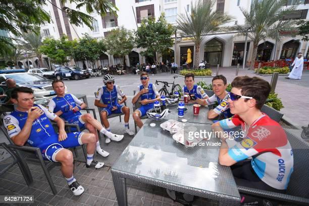 8th Tour of Oman 2017 / Stage 6 Team QuickStep Floors / Bob JUNGELS / Yves LAMPAERT / Eros CAPECCHI / David DE LA CRUZ / Laurens DE PLUS / Iljo...