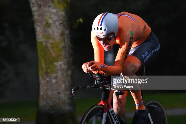 90th Road World Championships 2017 / ITT Men Elite Tom DUMOULIN / Bergen Bergen Mount Floyen 316m / Individual Time Trial / ITT / Bergen / RWC /