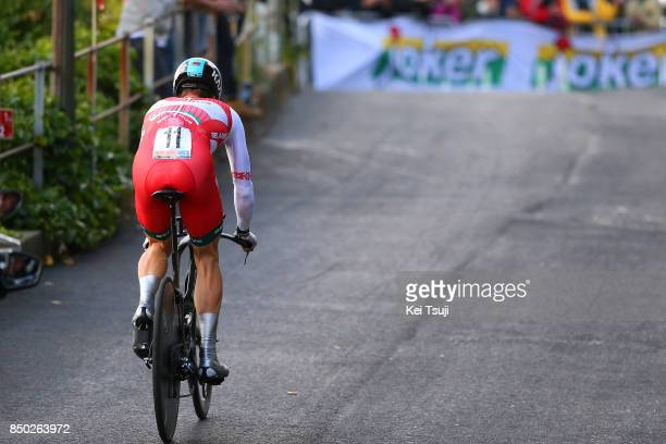 90th Road World Championships 2017 / ITT Men Elite Vasil KIRYIENKA / Bergen Bergen Mount Floyen 316m / Individual Time Trial / ITT / Bergen / RWC /