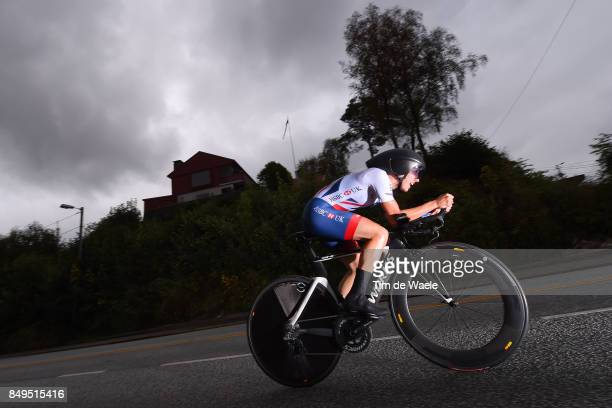 90th Road World Championships 2017 / ITT Women Elite Elinor BARKER / Bergen Bergen / Individual Time Trial / ITT / Bergen / RWC /