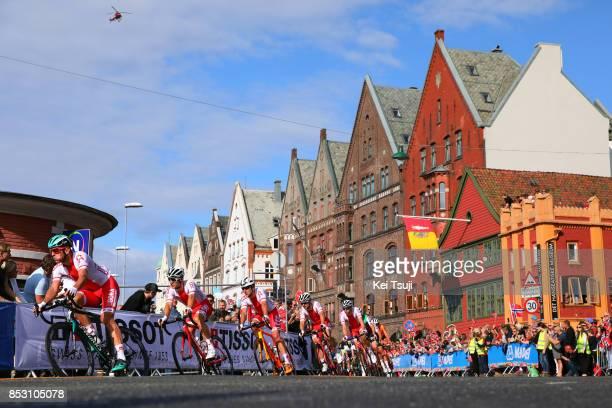 90th Road World Championships 2017 / Men Elite Road Race Michal KWIATKOWSKI / Team Poland / Peloton / Landscape / Bergen Bergen / RR / Bergen / RWC /
