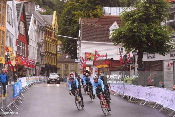 90th Road World Championships 2017 / Training Road Race Jasper STUYVEN / Julien VERMOTE / Team Belgium / Training / RR / Bergen / RWC /