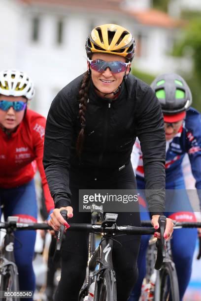 90th Road World Championships 2017 / Training Road Race Lizzie Elizabeth ARMITSTEADDEIGNAN / Team Great Britain / Training / RR / Bergen / RWC /