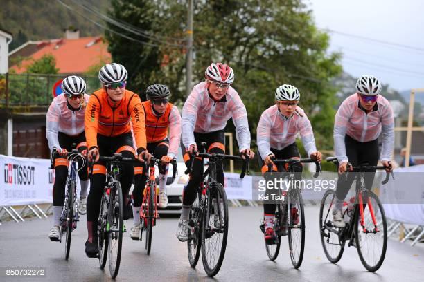 90th Road World Championships 2017 / Training Road Race Team Netherlands / Training / RR / Bergen / RWC /