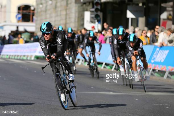 90th Road World Championships 2017 / Training TTT Vasil KIRYIENKA / Team Sky / Team Time Trial / Training / Bergen / RWC /
