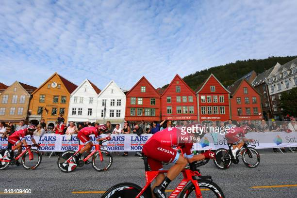 90th Road World Championships 2017 / TTT Men Elite Team KatushaAlpecin / Reto HOLLENSTEIN / Alexander KRISTOFF / Tiago MACHADO / Tony MARTIN /...
