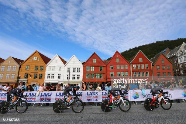 90th Road World Championships 2017 / TTT Men Elite Team Sky / Christopher FROOME / Vasil KIRYIENKA / Michal KWIATKOWSKI / Gianni MOSCON / Ravnanger...