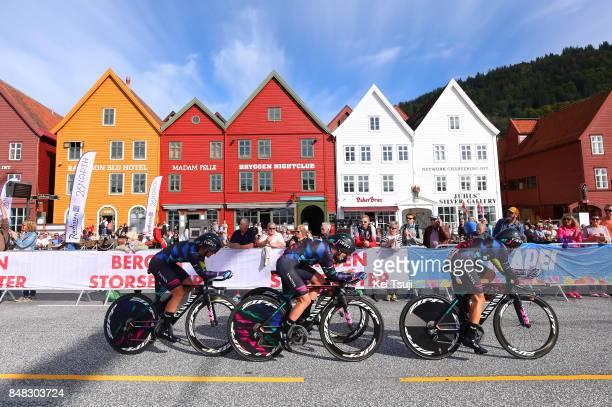 90th Road World Championships 2017 / TTT Women Elite Alena AMIALIUSIK / Hannah BARNES / Lisa BRENNAUER / Elena CECCHINI / Tiffany CROMWELL / Mieke...