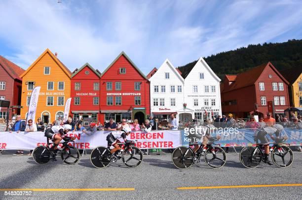 90th Road World Championships 2017 / TTT Women Elite Lucinda BRAND / Leah KIRCHMANN / Floortje MACKAIJ / Coryn RIVERA / Sabrina STULTIENS / Ellen VAN...