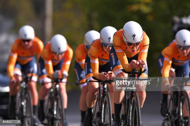 90th Road World Championships 2017 / TTT Women Elite Team Boels Dolmans Cycling / Chantal BLAAK / Karolann CANUEL / Megan GUARNIER / Christine...