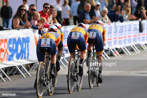 90th Road World Championships 2017 / TTT Women Elite Team Boels Dolmans Cycling / Chantal BLAAK / Karolann CANUEL / Megan GUARNIER / Anna VAN DER...