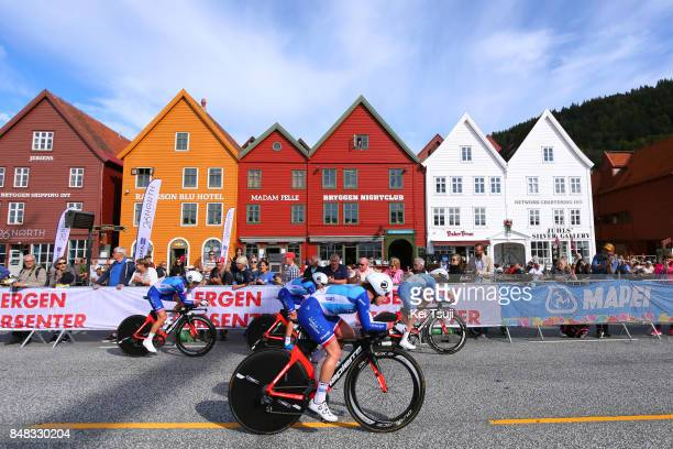 90th Road World Championships 2017 / TTT Women Elite Team FDJ Nouvelle Aquitaine Futuroscope / Coralie DEMAY / Eugenie DUVAL / Shara GILLOW / Roxane...