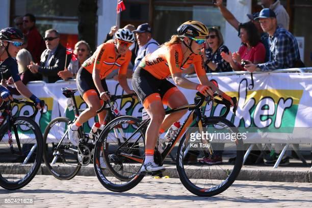 90th Road World Championships 2017 / Women Elite Road Race Amy PIETERS / Lucinda BRAND / Bergen Bergen / RR / Bergen / RWC /