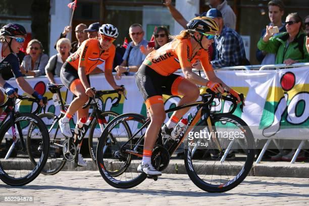 90th Road World Championships 2017 / Women Elite Road Race Lucinda BRAND / Amy PIETERS / Bergen Bergen / RR / Bergen / RWC /