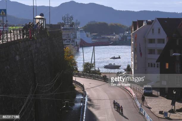90th Road World Championships 2017 / Women Elite Road Race Lucinda BRAND / Gracie ELVIN / Hannah BARNES / Amy PIETERS / Landscape / Bergen Bergen /...