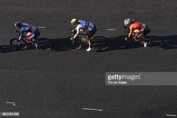 90th Road World Championships 2017 / Women Elite Road Race Lucinda BRAND / Gracie ELVIN / Hannah BARNES / Bergen Bergen / RR / Bergen / RWC /