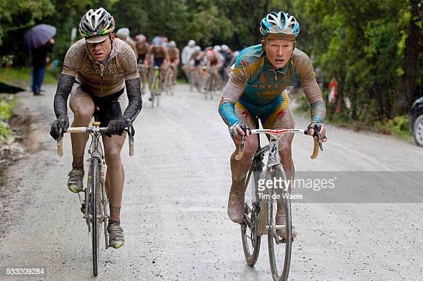 93th Giro d'Italia 2010 / Stage 7 Alexandre Vinokourov / Cadel Evans / Marina di Carrara Montalcino / Tour of Italy / Ronde van Italie / Rit Etape /...