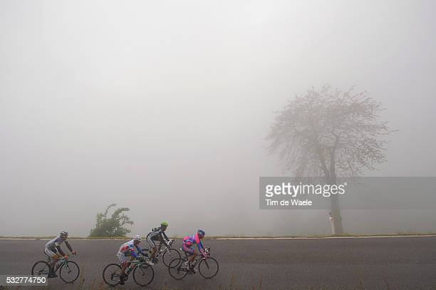 95th Tour of Italy 2012 / Stage 15 Diego ULISSI / Martijn Keizer / Emanuele Sella / Jose Herrada Lopez / Illustration Illustratie / CULMMIE DI SAN...