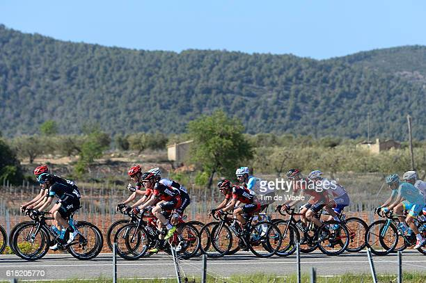 96th Volta Catalunya 2016 / Stage 6 Illustration Illustratie / Landscape Paysage Landschap/ Peleton Peloton / Sant Joan Despi Vilanova i la Geltru /...