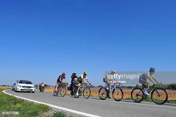 96th Volta Catalunya 2016 / Stage 6 Illustration Illustratie/ Landscape Paysage Landschap / CHAVES Jhoan Esteban / DOMONT Axel / Sant Joan Despi...