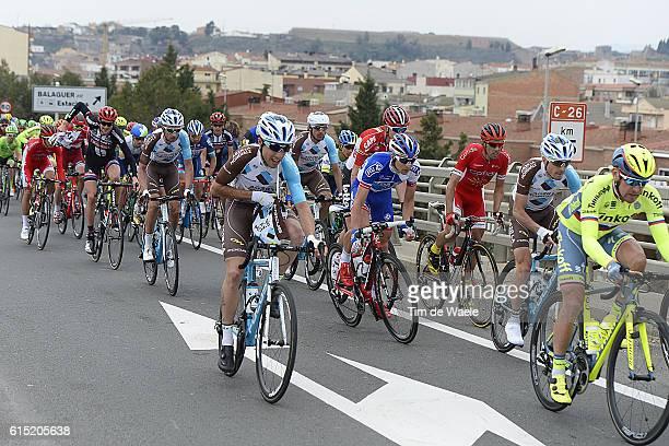 96th Volta Cataluya 2016/ Stage 5 Illustration Illustratie/ Peloton Peleton Landscape Paysage/ Rialp Valls / Tour of Catalunya/ Ronde Etape Rit/...