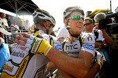 97th Tour de France 2010 / Stage 6 Arrival / CAVENDISH Mark / Kanstantsin SIVTSOV / Celebration Joie Vreugde / Montargis Gueugnon / Ronde van...