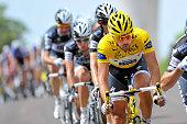97th Tour de France 2010 / Stage 6 CANCELLARA Fabian Yellow Jersey / Team Saxo Bank / Montargis Gueugnon / Ronde van Frankrijk / TDF / Rit Etape /...